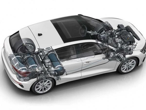 Photo Audi A3 Sportback g-tron