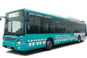 L'aéroport de Lyon Saint-Exupéry inaugure ses bus GNV