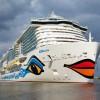 Premier plein pour l'AIDAnova, le paquebot de croisière au GNL d'Aida Cruises