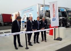 Air Liquide inaugure la station GNV de Crépy-en-Valois