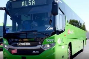 Espagne : Scania met en service son premier autocar GNL