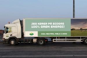 A Copenhague, les camions à lait roulent au biogaz