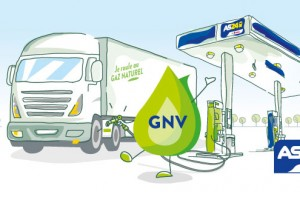 Une première station GNV AS24 à Nantes en 2017
