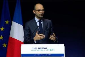 Assises de la mer : Edouard Philippe affiche son soutien au GNL maritime