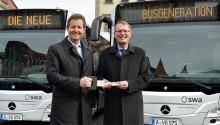 Allemagne : 12 bus GNV Mercedes Citaro NGT pour Ausbourg