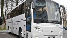 Gaz Group présente un autocar GNC Euro 6 pour le marché russe