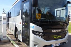 Perpignan : un autocar GNV en test avec GRDF