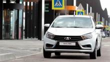Russie : AvtoVAZ présente la Lada Vesta GNV