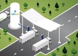 Axegaz lève 7.5 millions d'euros pour financer ses stations GNL