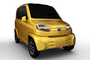 Bajaj RE60 � Le premier quadricycle GNV indien
