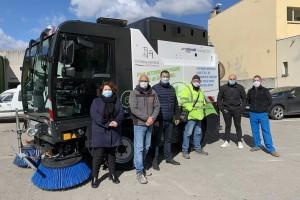 Châteaurenard nettoie les rues plus vert avec sa balayeuse GNV