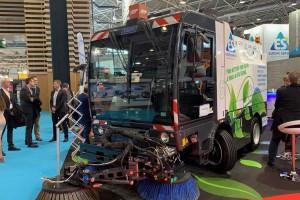 La balayeuse GNV CleanNGo récompensée à Pollutec