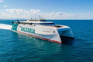 Première traversée 100 % bioGNL pour le ferry rapide de Balearia