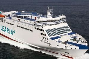 Gas Natural Fenosa et Baleària lancent le premier navire au gaz naturel sur le Port de Barcelone