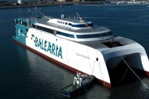 Un premier ferry au GNL vers les Baléares