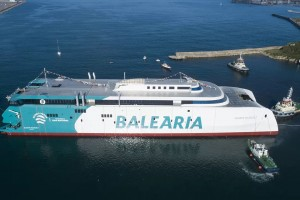 Espagne : Balearia opèrera le premier ferry rapide au GNV du monde