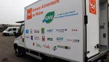 Un camion GNV pour la Banque Alimentaire du Rhône