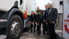 Rhône-Alpes : une benne à ordure au gaz naturel pour le Pays rochois
