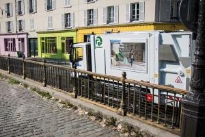 Grenoble va collecter le verre ménager avec des bennes GNV