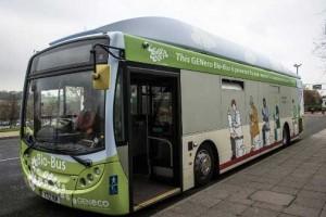 Un projet de 110 bus au biogaz � deux �tages pour Bristol