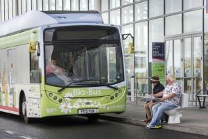 Bio-Bus � Un nouveau bus au biogaz entre en service en Angleterre
