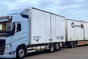 Le bioGNL testé avec succès sur des camions en Suède