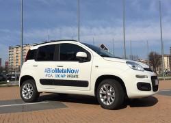 80.000 km avec du biogaz issu des boues d'épurations pour une Fiat Panda