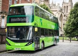Le gouvernement britannique va financer les bus au biogaz de Bristol