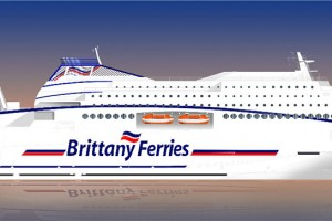 Brittany Ferries commande un navire GNL en Allemagne