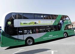 Nottingham renouvelle sa flotte de bus à deux étages avec du biométhane