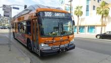 Los Angeles commande 350 bus GNV supplémentaire à New Flyer