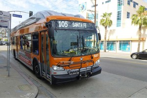 Los Angeles commande 350 bus GNV suppl�mentaire � New Flyer