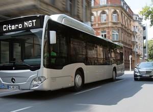 Le Grand Poitiers commande 10 bus au gaz naturel à Mercedes