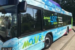 Un premier bus au gaz pour l'agglomération du Pays de Saint-Omer