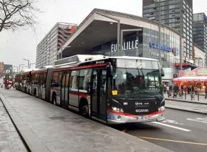 De nouveaux bus au gaz pour la métropole de Lille