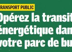 Transports en commun et transition énergétique– Une journée d'étude organisée le 21 mai à Paris