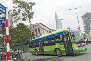 Vietnam - La Banque Mondiale finance une ligne de bus GNV � Ho Chi Minh