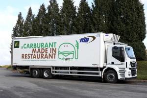 Lyon : chez McDo, on livre au biogaz