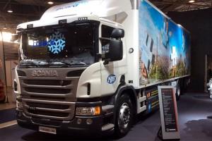 Un camion frigorifique au gaz naturel pour les surgel�s Picard