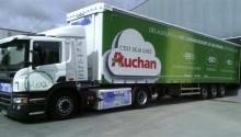 Camions GNL – Auchan annonce les premiers résultats de son expérimentation
