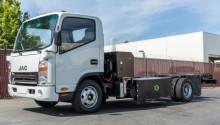 Camion hybride gaz naturel électrique : un prototype présenté par Efficient Drivetrains