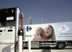 Air Liquide et Carrefour inaugurent une station bio-GNV à Servon