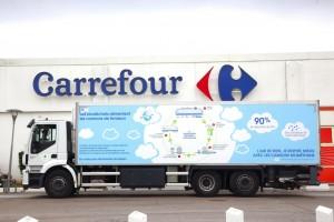 Carrefour vise 1 200 camions au biogaz d'ici fin 2022