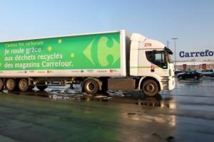 Carrefour va d�ployer 200 camions au biom�thane d�ici 2017