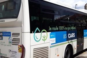 Plus de 130 cars GNV sur le réseau des Cars du Rhône d'ici 2022