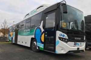 Un autocar au gaz pour la Région Centre Val de Loire