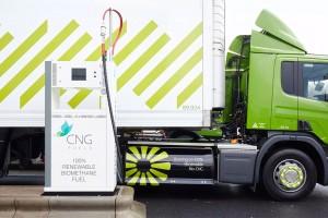 Grande-Bretagne : Bientôt 5 nouvelles stations bio-GNV pour près de 3000 poids lourds