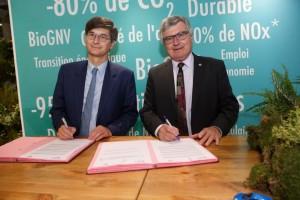 Le CNPA s'associe à GRDF pour développer le GNV en France