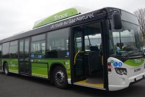 Sept nouveaux bus au gaz naturel pour la ville de Colmar