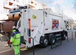 A Colombes, des bennes GNV assurent la collecte des déchets